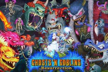 Ghosts 'n Goblins Resurrection presenta un nuevo adelanto