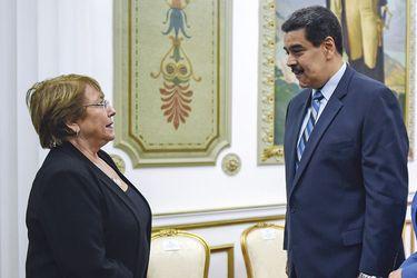 Bachelet y el chavismo, una relación zigzagueante que pasa por su peor momento