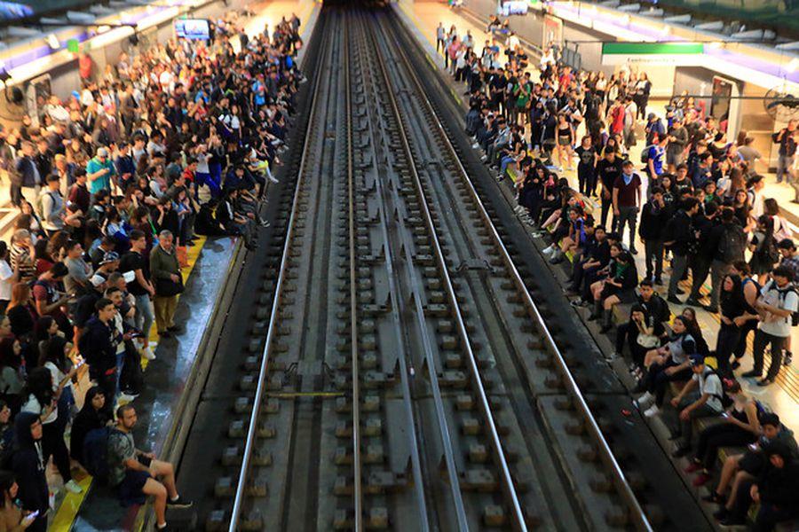 Protestas en el Metro