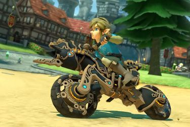 Motocicleta de Zelda: Breath of the Wild llega a Mario Kart 8 Deluxe