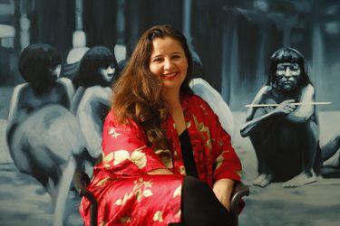 La artista chilena Voluspa Jarpa gana importante premio latinoamericano con obra inspirada en protestas sociales