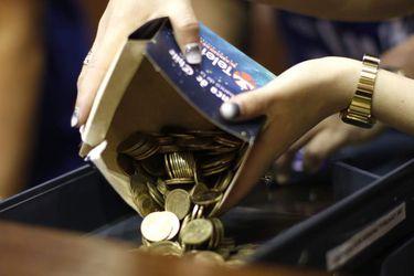 Donaciones en el Banco de Chile