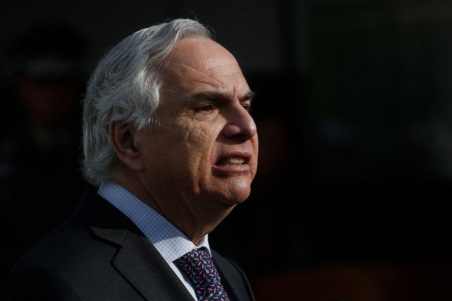 El exministro del Interior, Andrés Chadwick.