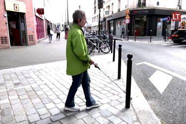 Este dispositivo ayuda a personas con discapacidad visual a tomar caminos más seguros
