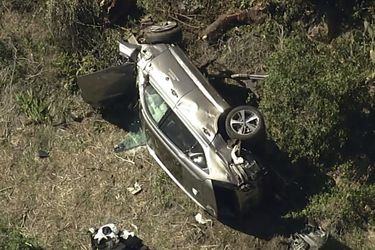 ¿Qué vehículo conducía Tiger Woods al momento de su grave accidente?