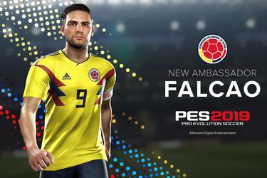 Falcao acompañará a Coutinho en la portada de PES 2019