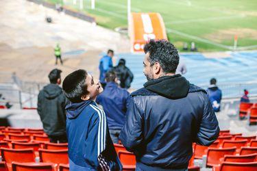 El fútbol: pasión padre e hijo