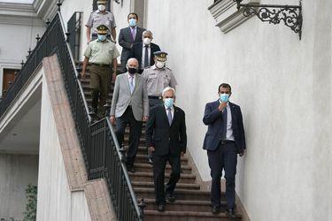 Estado de sitio y La Araucanía, el debate que Evópoli, la UDI y RN quieren abrir con Piñera mañana en la noche