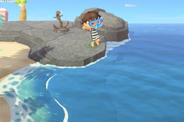 Los cambios que trae la nueva actualización para bucear en Animal Crossing