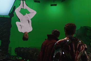 Así crearon la batalla en la nave de Ebony Maw en Avengers: Infinity War