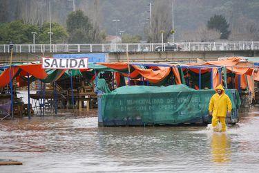 Onemi declara alerta roja en provincia de Valparaíso por sistema frontal: precipitaciones deberían declinar en horas de la tarde