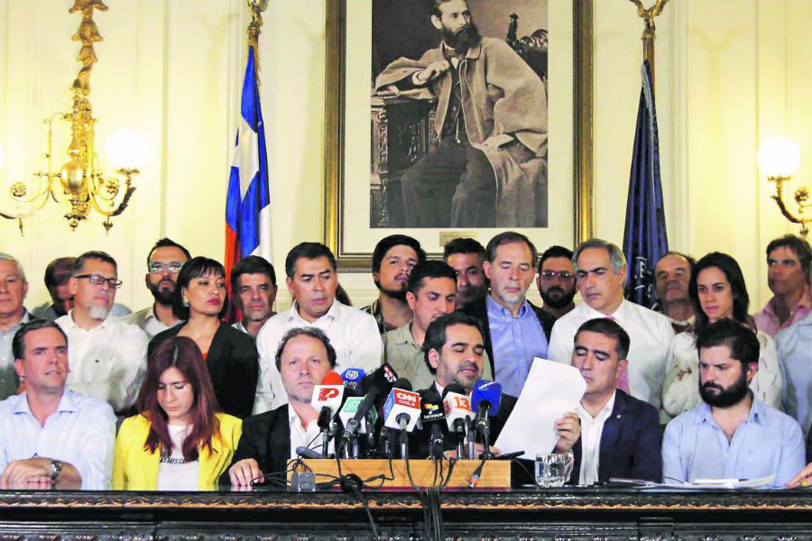 partidos acuerdo por la paz