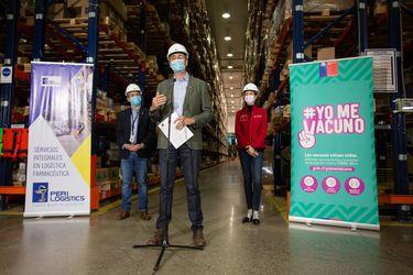Llega a Chile nuevo cargamento con 500 mil dosis de Sinovac para continuar con proceso de vacunación