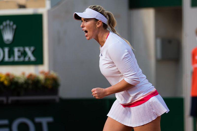 Alexa Guarachi y Desirae Krawczyk cayeron en los octavos de final del WTA de  Madrid.