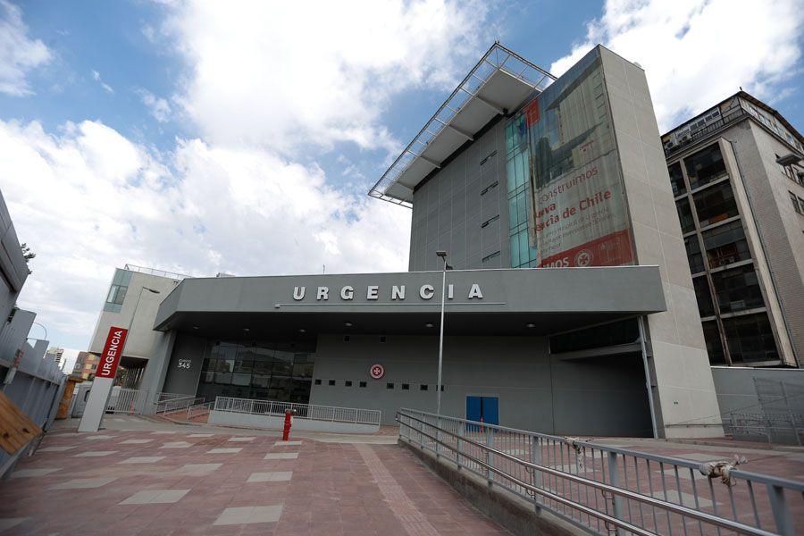Las instalaciones recién terminadas ampliarán la capacidad del Hospital de Urgencia de la Asistencia Pública. Foto: Mario Téllez / La Tercera