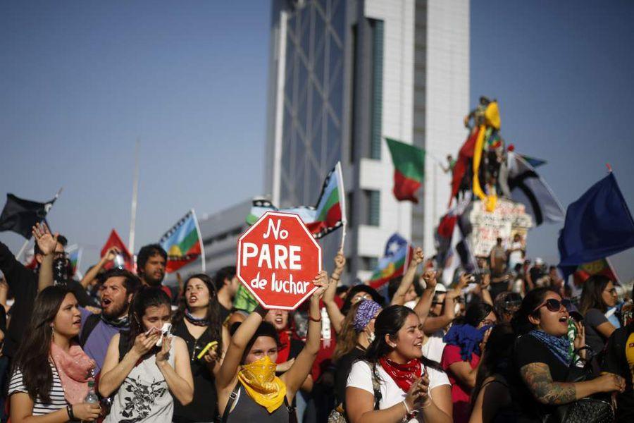 Incidentes en Plaza Italia en una nueva jornada de protesta