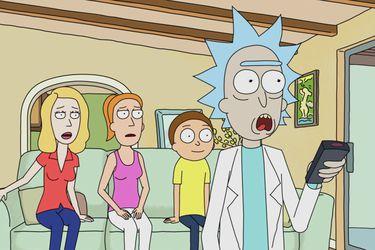 Rick y Morty tantea su comercial del Superbowl para Pringles