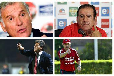 Esta vez tampoco: el paso por la Roja de los últimos cinco seleccionadores nacidos en Chile