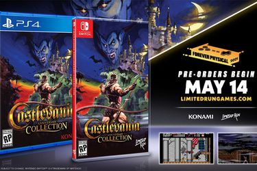 Castlevania Anniversary Collection recibirá cuatro ediciones físicas de lujo para PS4 y Nintendo Switch