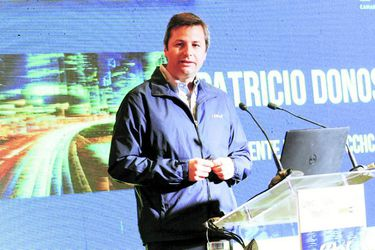 Patricio Donoso, presidente CChC