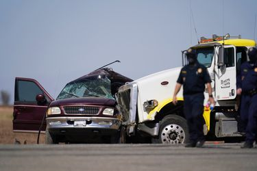 Al menos 14 fallecidos tras accidente múltiple en la frontera sur de California