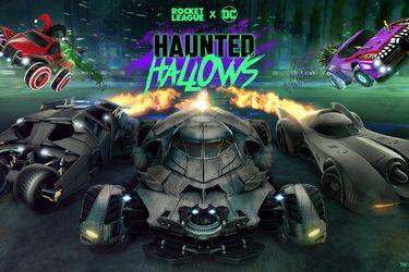 Rocket League sumará contenido de Batman para el evento Haunted Hallows