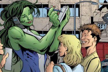 Los guiones para la serie de She-Hulk ya estarían listos