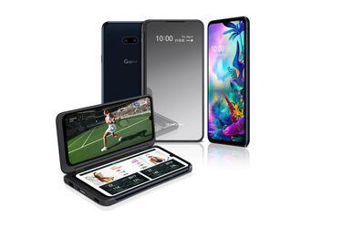 LG presentó a su G8X ThinQ de pantalla doble