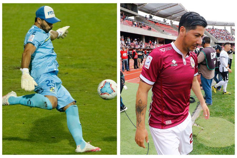 Johnny Herrera y Jaime Valdés, durante el Campeonato Nacional 2020.