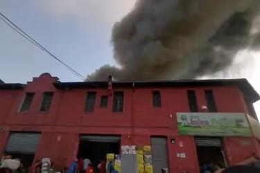 Incendio se registra en cercanías de La Vega