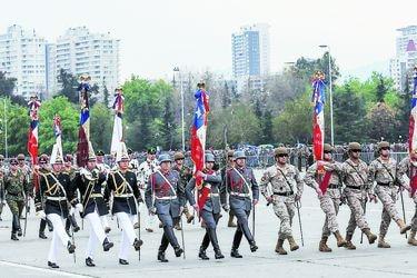 Las gestiones de Desbordes para que Parada Militar sea declarada patrimonio cultural inmaterial de Chile
