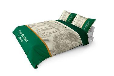 Por alguna razón, puedes comprar un set de cama de vino blanco Santa Helena