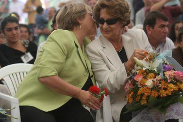 A los 93 años fallece Ángela Jeria, madre de la expresidenta Michelle Bachelet