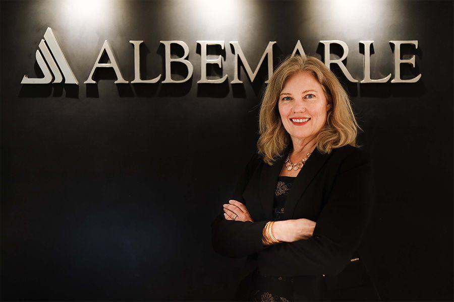 Ellen Lenny-Pessagno CEO Albemarle