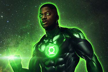 Zack Snyder compartió una foto del rodaje de la escena de Green Lantern que quería para Justice League