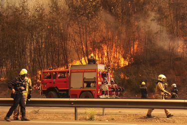 Incendios región de Valparaíso