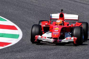 Mick Schumacher al volante del Ferrari de Michael: el día que un motor V10 volvió a rugir en Fórmula 1