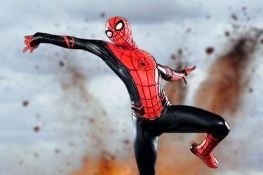 Spider-Man está lejos de casa en la nueva figura de Iron Studios