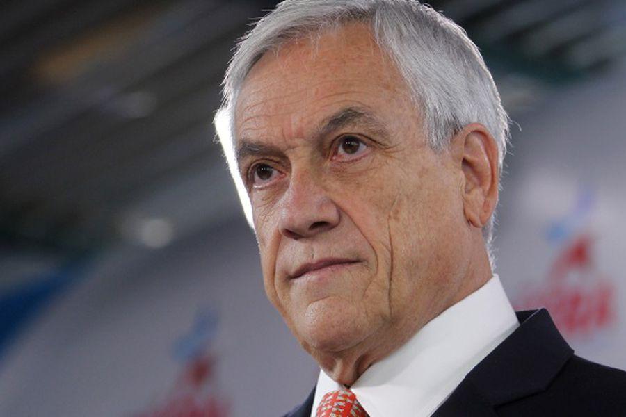 Precandidato presidencial  Sebastian Piñera, se refiere a la administracion de su patrimonio