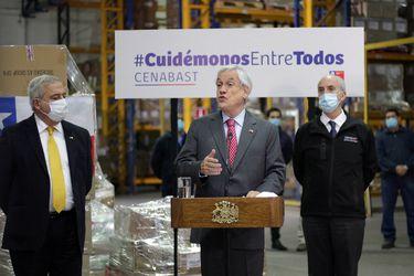 """Piñera llama al Congreso a aprobar """"ojalá hoy día"""" el veto presidencial en proyecto de Ingreso Familiar de Emergencia"""