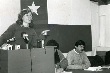 """Gladys Marín: la """"visionaria"""""""