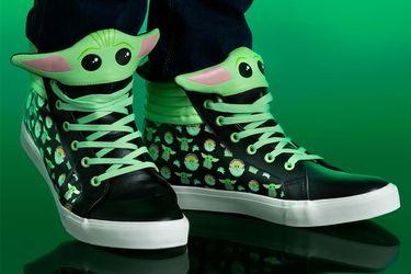 La Fuerza es intensa en estas nuevas zapatillas de Baby Yoda