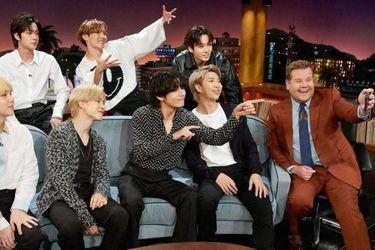 BTS protagonizará el nuevo Carpool Karaoke de James Corden
