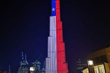 ¿Se puede poner publicidad en el Burj Khalifa? Las condiciones para aparecer en el famoso rascacielos que esta semana exhibió la bandera chilena