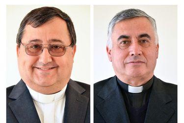 Nombran a Jorge Vega Velasco como obispo de Valparaíso y a Guillermo Vera Soto como el de Rancagua