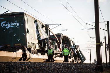 Accidente de tren en Dinamarca