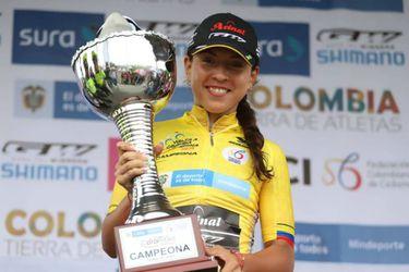 Aranza Villalón es la primera extranjera que gana la Vuelta a Colombia Femenina
