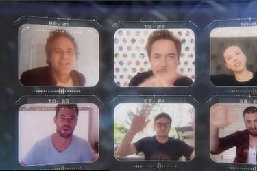 ¡Avengers Assemble! Elenco de Avengers se reune a través de videollamada para enviar un importante mensaje por el Covid-19