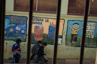 Cierre de centro del SENAME en el cerro Cordillera en Valparaíso.
