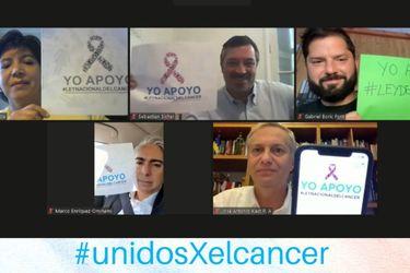 """""""Unidos por el cáncer"""": candidatos comparten su compromiso con la ley nacional oncológica"""